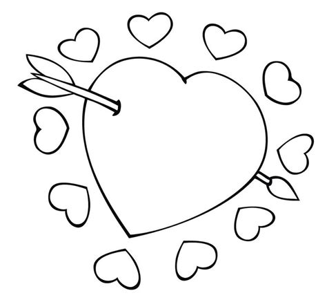 Hearts Printable Coloring Pages free printable coloring pages for