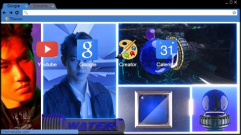 google theme kyungsoo exo k chrome themes themebeta
