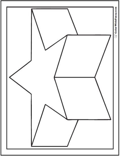 3d coloring pages 80 shape coloring pages color squares circles triangles