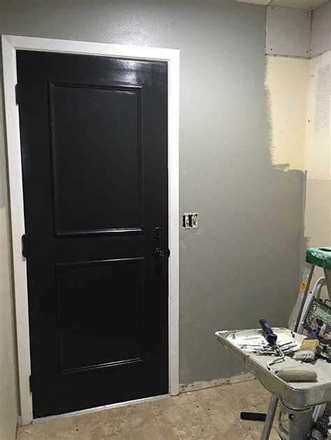 easiest flat panel door update  diy interior