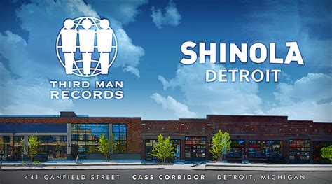 Records Detroit Third Records Shinola In The Cass Corridor