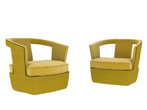 nube armchair fabric armchair with armrests host by nube italia design