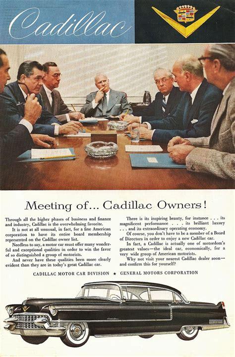cadillac television ads personalities 1955 cadillac ad 15