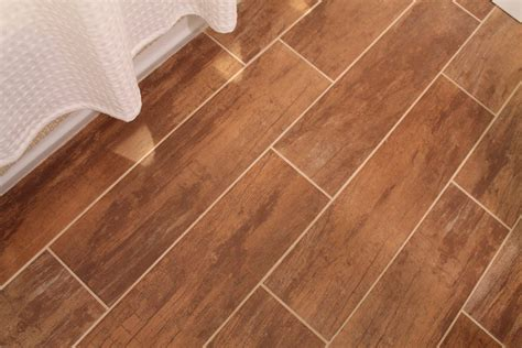 wood tile flooring pictures bathroom renovation with wood grain tile and more