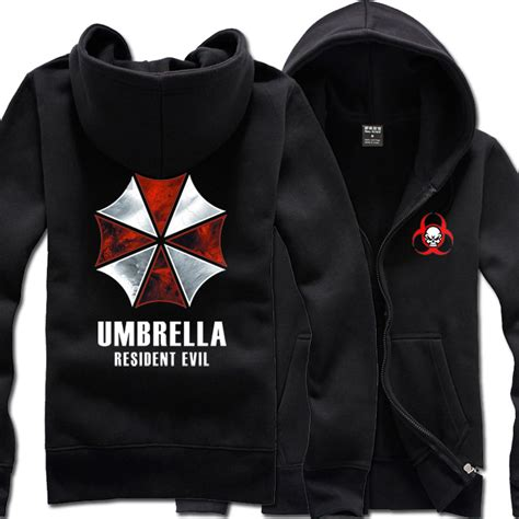 Hoodie Jaket Evil Corp Sweater Warung Kaos resident evil umbrella corporation 2colors hoodie jacket coat costume inhoodies