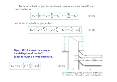 n mos capacitor chapter 10