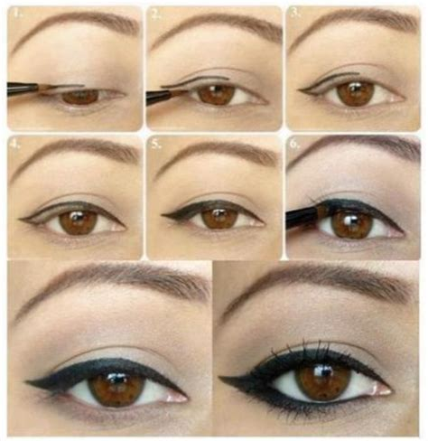 tutorial applying eyeliner how to apply eye liner according to your eye shape eye