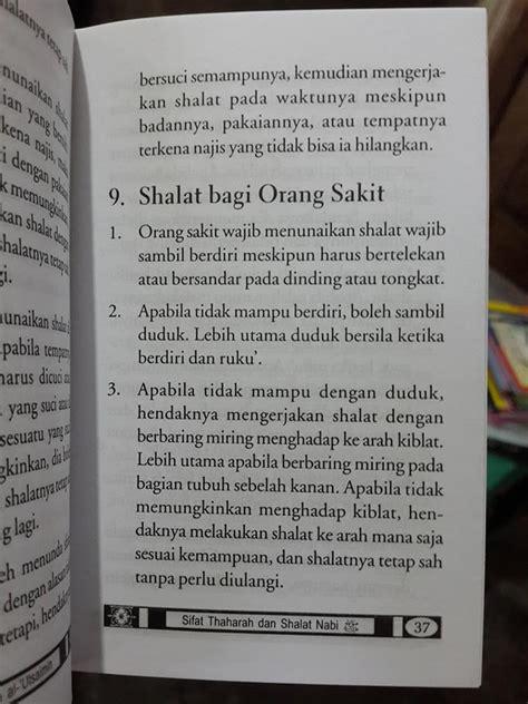 Sifat Shalat Nabi Saku 1 buku saku sifat thaharah dan shalat nabi toko muslim title