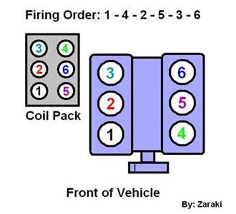 ford 4 0 v6 firing order firing order for 2001 ford ranger 3 0 autos weblog