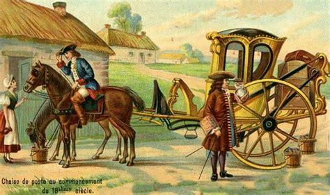 chaise de poste voyages et routes d autrefois ou l 233 loge de la lenteur