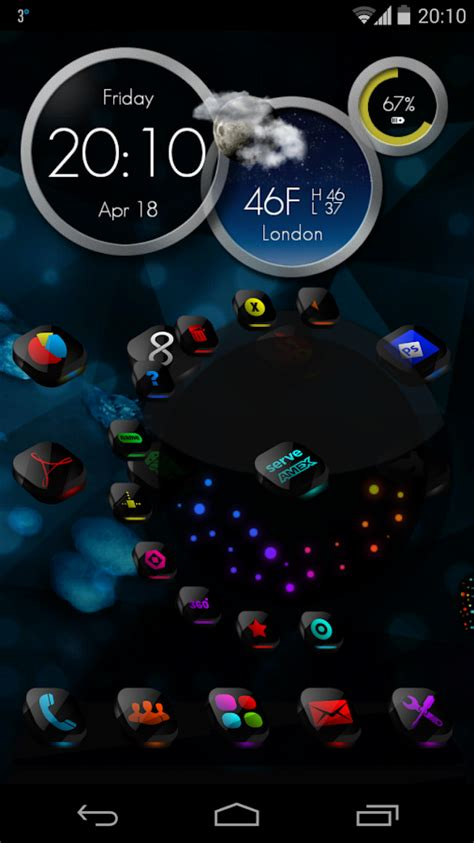 theme 3d android terbaik next launcher theme cosmix 3d android apps on google play