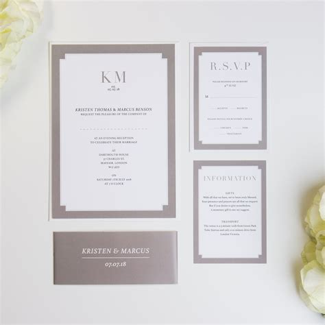 Wedding Invitations Borders by Border Wedding Invitations Beyond Expectations