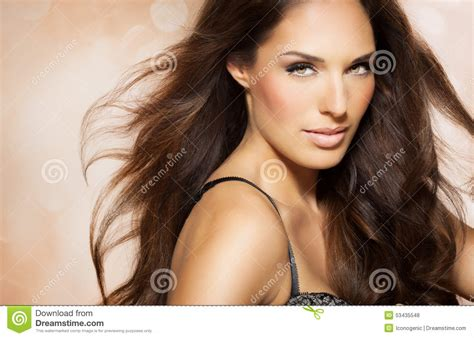 dark haired beautiful women modeling clothes beautiful hair stock photo image 53435548