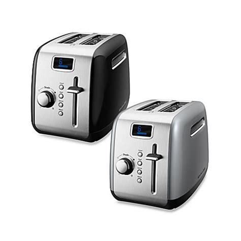 bed bath and beyond toasters kitchenaid 174 2 slice digital toasters bed bath beyond
