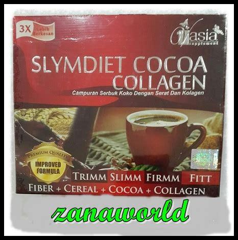 Cocoa Collagen slymdiet cocoa collagen zanaworld