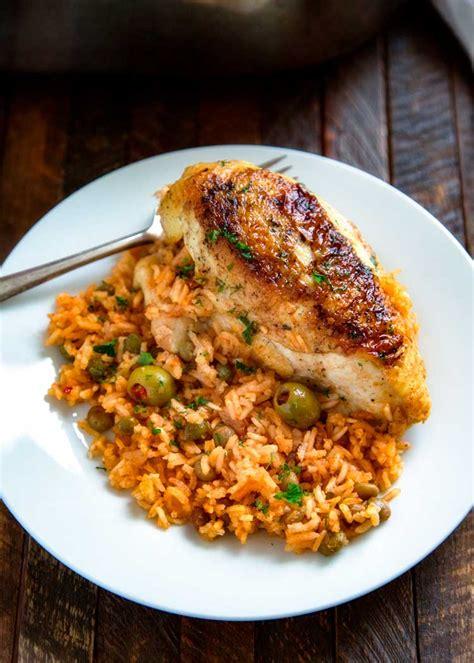 printable puerto rican recipes puerto rican chicken and rice arroz con pollo kevin is