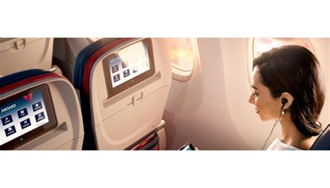 delta flight entertainment delta becomes only u s airline to offer all in flight