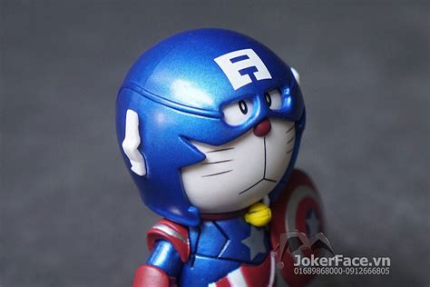 Doraemon Captain America 1 m 244 h 236 nh doraemon captain america joker shop