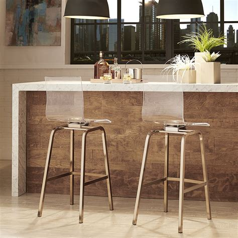 is brass coming back in style 2017 furniture clear acrylic bar stools with back also brass