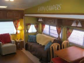 rv makeover ideas cute cer interior truck trailer pinterest happy design and paint