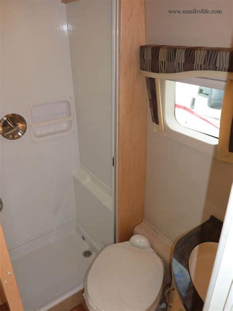 smallest rv with bathroom 2012 serenity is a sleek sprinter rv by leisure travel