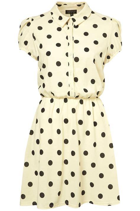 Top Shoo polka dots at topshop clothes clothes clothes