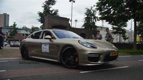 Porsche Panamera Turbo S Sound by Porsche Panamera Turbo S W Techart Exhaust Brutal Sounds