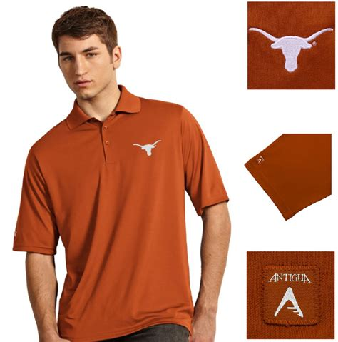T Shirt Exceed longhorns burnt orange exceed polo shirt