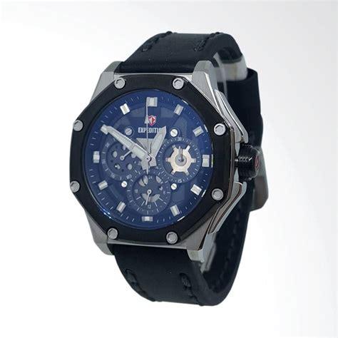 Jam Tangan Hitam Tali Kulit jual expedition 140721 analog tali kulit jam tangan wanita silver hitam harga