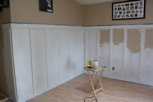 Bathroom Wainscoting Height - superwoman beachy cottage bungalow living room remodel