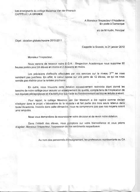 mod 232 le lettre administrative concours adjoint