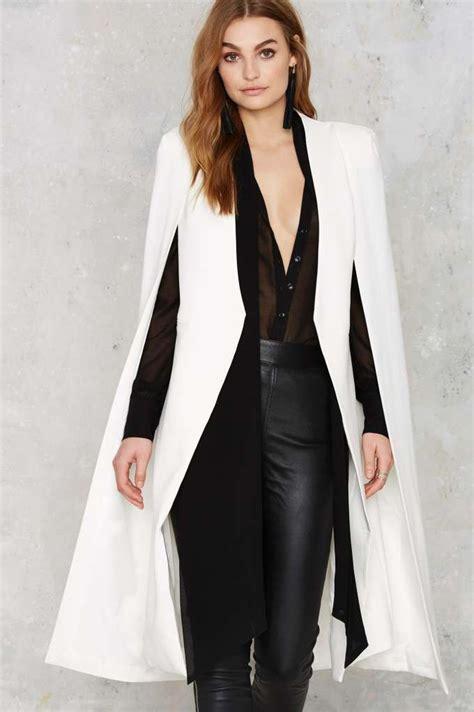 19664 Black Cape Blazer Coat 17 best ideas about cape jacket on black cape