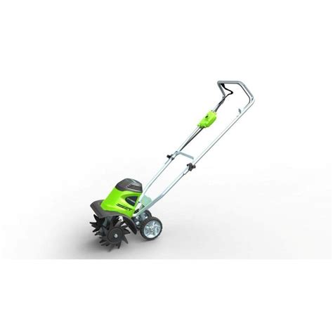 Garden Tillers At Lowes - corded electric cultivator tiller joe garden seed