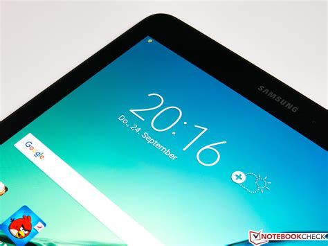 Tablet Galaxy S2 kort testrapport samsung galaxy tab s2 9 7 lte tablet notebookcheck nl