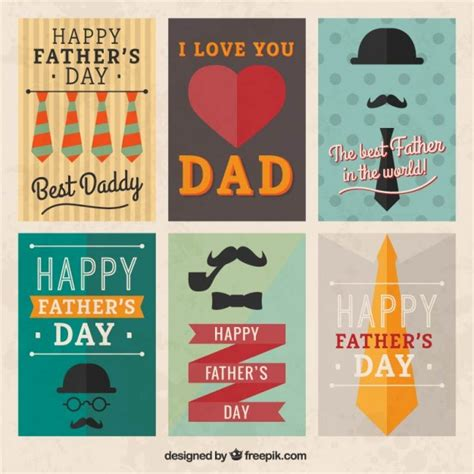 fathers day posters retro fathers day posters vector free