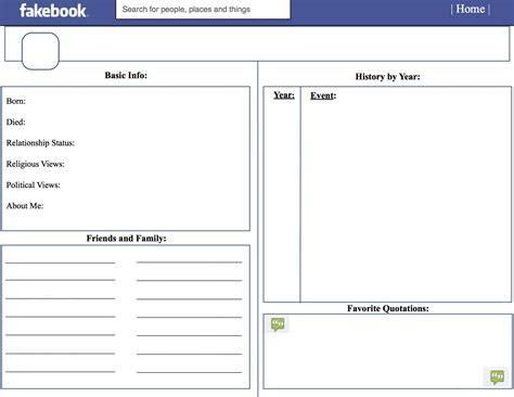 blank facebook template for word online calendar templates