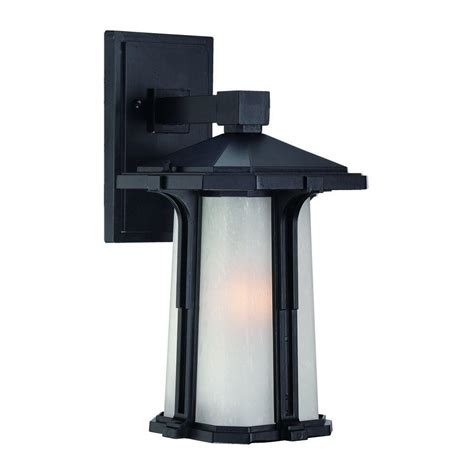 Outdoor Wall Mount Light Acclaim Lighting Illuma Collection Wall Mount 1 Light Outdoor Matte Black Light Fixture 3442bk
