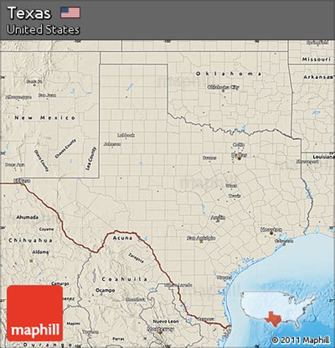relief map of texas free shaded relief map of texas