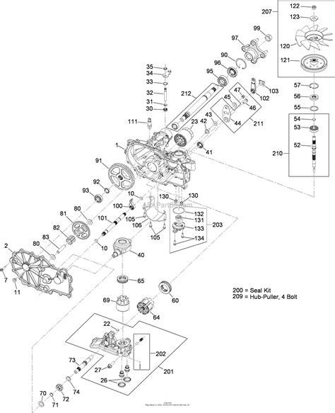 toro  titan zx  turn radius riding mower  sn   parts