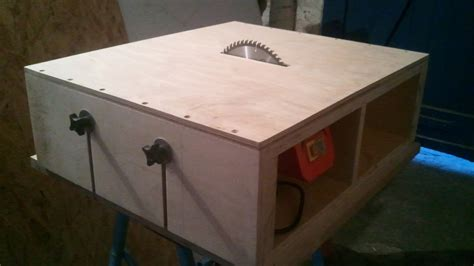 table saw part 1 diy motor mount adjustable bed
