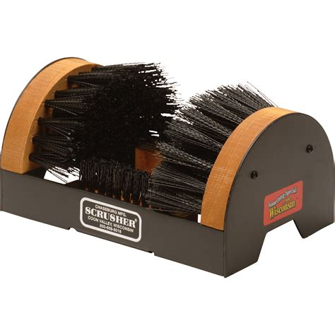 brush scrusher shoe and boot cleaner new ebay