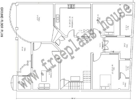 40 sqm to sqft 40 x52 193 square meters house plan