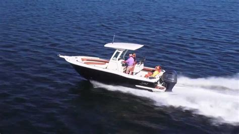 scout boats t top scout boats 245 xsf w patented t top hard top glass