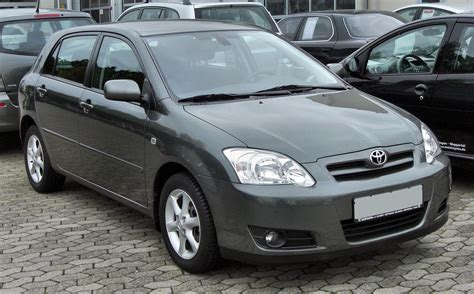 What Type Of Does A Toyota Corolla Use File Toyota Corolla E12 Front 1 20091003 Jpg Wikimedia