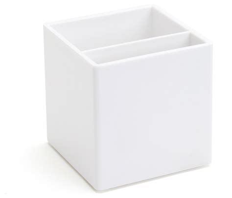 white desk accessories pen cup white modern desk accessories