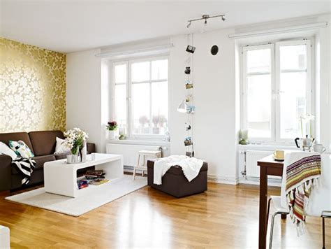 a small flat with a difficult layout and great decorating
