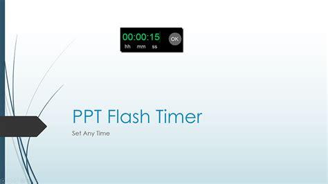flash timer  ltc clock