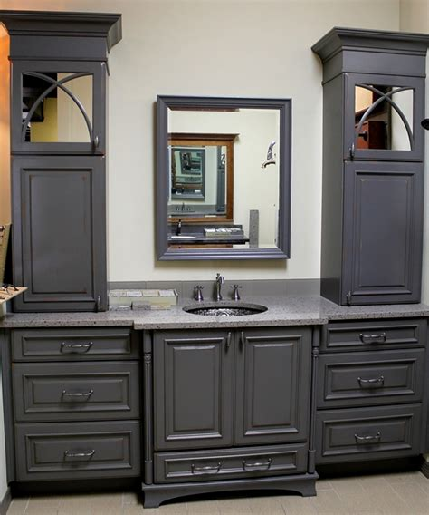 superior Images Of Small Bathroom Remodels #1: Grey-Bathroom-small.jpg