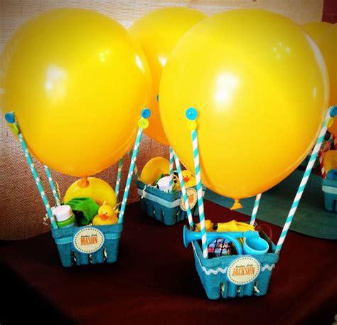 balloon themed birthday party hot air balloon party favors cute balloons