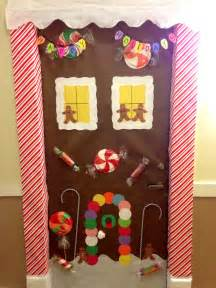 gingerbread house door decor holidays stuff
